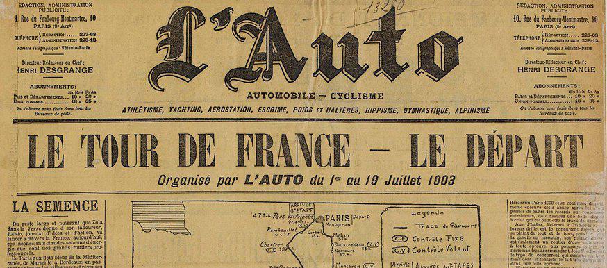 Arjen Dijkstra fietst eerste Tour de France